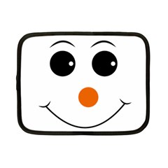 Happy Face With Orange Nose Vector File Netbook Case (Small)