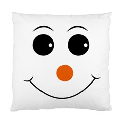 Happy Face With Orange Nose Vector File Standard Cushion Case (One Side)
