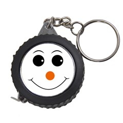 Happy Face With Orange Nose Vector File Measuring Tapes