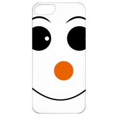 Happy Face With Orange Nose Vector File Apple iPhone 5 Classic Hardshell Case