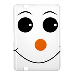 Happy Face With Orange Nose Vector File Kindle Fire HD 8.9