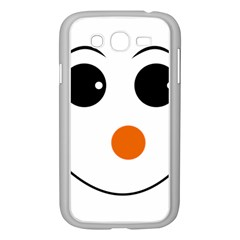 Happy Face With Orange Nose Vector File Samsung Galaxy Grand DUOS I9082 Case (White)