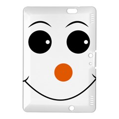 Happy Face With Orange Nose Vector File Kindle Fire HDX 8.9  Hardshell Case