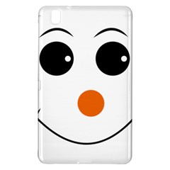 Happy Face With Orange Nose Vector File Samsung Galaxy Tab Pro 8.4 Hardshell Case