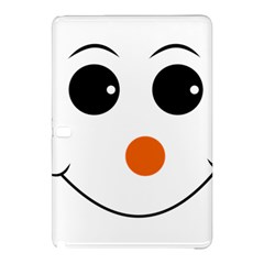 Happy Face With Orange Nose Vector File Samsung Galaxy Tab Pro 12.2 Hardshell Case