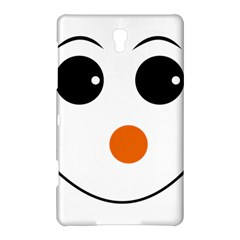 Happy Face With Orange Nose Vector File Samsung Galaxy Tab S (8.4 ) Hardshell Case