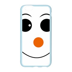 Happy Face With Orange Nose Vector File Apple Seamless iPhone 6/6S Case (Color)