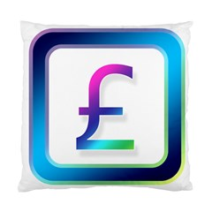 Icon Pound Money Currency Symbols Standard Cushion Case (one Side)