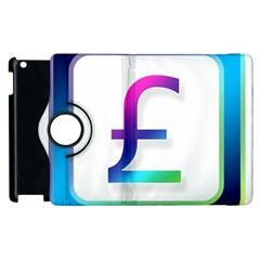 Icon Pound Money Currency Symbols Apple iPad 2 Flip 360 Case