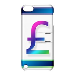Icon Pound Money Currency Symbols Apple iPod Touch 5 Hardshell Case with Stand