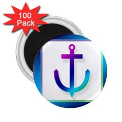 Icon Anchor Containing Fixing 2.25  Magnets (100 pack)