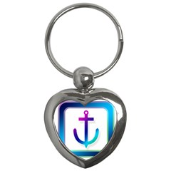 Icon Anchor Containing Fixing Key Chains (Heart)