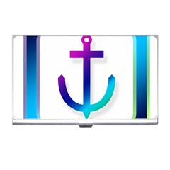 Icon Anchor Containing Fixing Business Card Holders