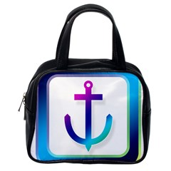 Icon Anchor Containing Fixing Classic Handbags (One Side)