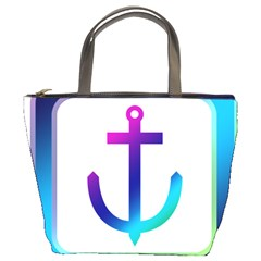 Icon Anchor Containing Fixing Bucket Bags
