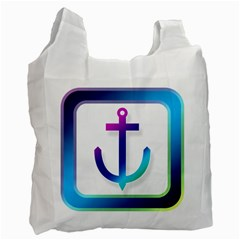 Icon Anchor Containing Fixing Recycle Bag (Two Side)