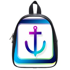 Icon Anchor Containing Fixing School Bags (Small)