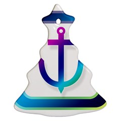 Icon Anchor Containing Fixing Christmas Tree Ornament (Two Sides)