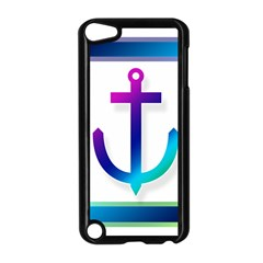 Icon Anchor Containing Fixing Apple iPod Touch 5 Case (Black)