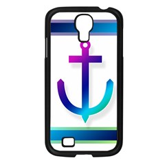 Icon Anchor Containing Fixing Samsung Galaxy S4 I9500/ I9505 Case (Black)