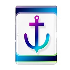 Icon Anchor Containing Fixing Samsung Galaxy Tab 2 (10.1 ) P5100 Hardshell Case