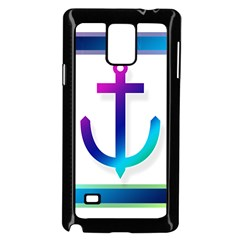 Icon Anchor Containing Fixing Samsung Galaxy Note 4 Case (Black)