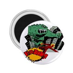 Monster 2 25  Magnets