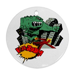Monster Ornament (Round)