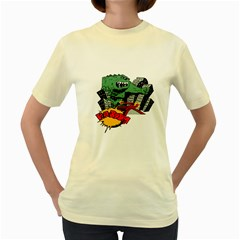 Monster Women s Yellow T-Shirt
