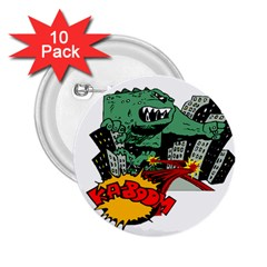 Monster 2.25  Buttons (10 pack)