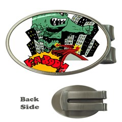 Monster Money Clips (Oval)