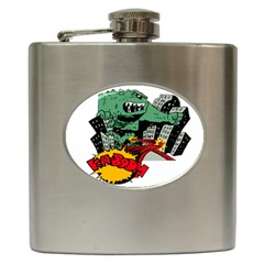 Monster Hip Flask (6 oz)