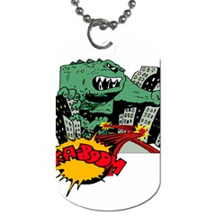 Monster Dog Tag (Two Sides)