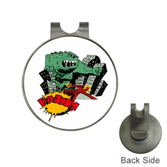 Monster Hat Clips with Golf Markers