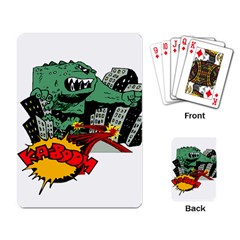 Monster Playing Card