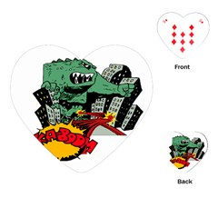 Monster Playing Cards (Heart)