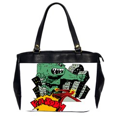Monster Office Handbags (2 Sides)