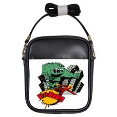 Monster Girls Sling Bags