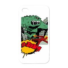 Monster Apple iPhone 4 Case (White)