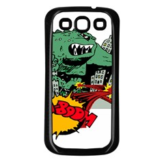 Monster Samsung Galaxy S3 Back Case (Black)