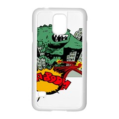 Monster Samsung Galaxy S5 Case (White)