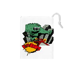 Monster Drawstring Pouches (Small)