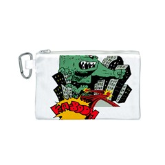 Monster Canvas Cosmetic Bag (S)