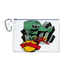 Monster Canvas Cosmetic Bag (M)