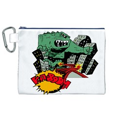 Monster Canvas Cosmetic Bag (XL)