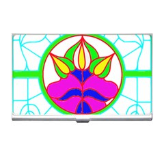 Pattern Template Stained Glass Business Card Holders