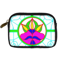 Pattern Template Stained Glass Digital Camera Cases
