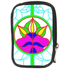 Pattern Template Stained Glass Compact Camera Cases