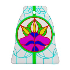 Pattern Template Stained Glass Ornament (Bell)