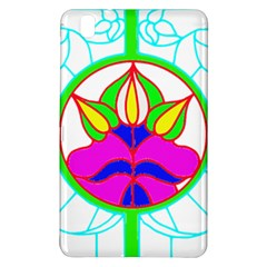 Pattern Template Stained Glass Samsung Galaxy Tab Pro 8.4 Hardshell Case